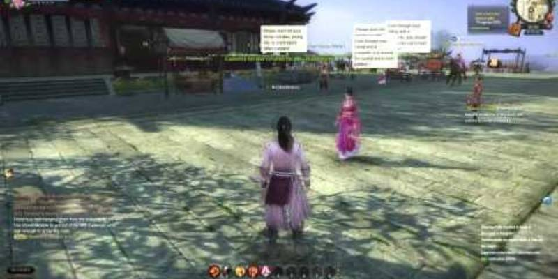 Gameplay - Age of Wulin