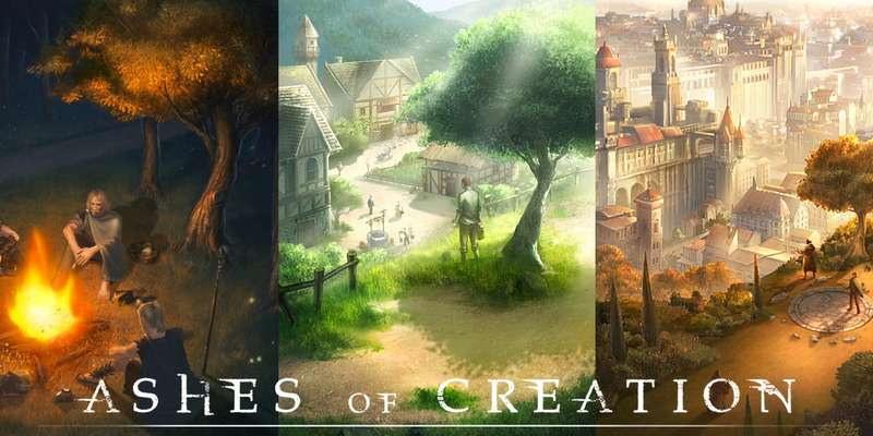 Ashes of Creation mostra in video le sue ambientazioni