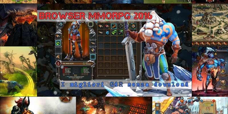MMORPG via Browser 2016: i migliori browser game di ruolo