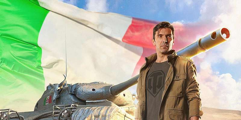 Gianluigi Buffon sbarca in World of tanks