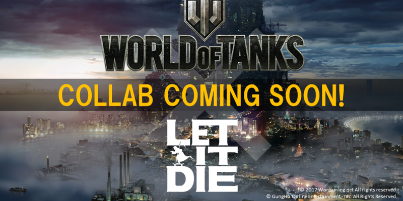 Let It Die: Annunciata collaborazione con World of Tanks