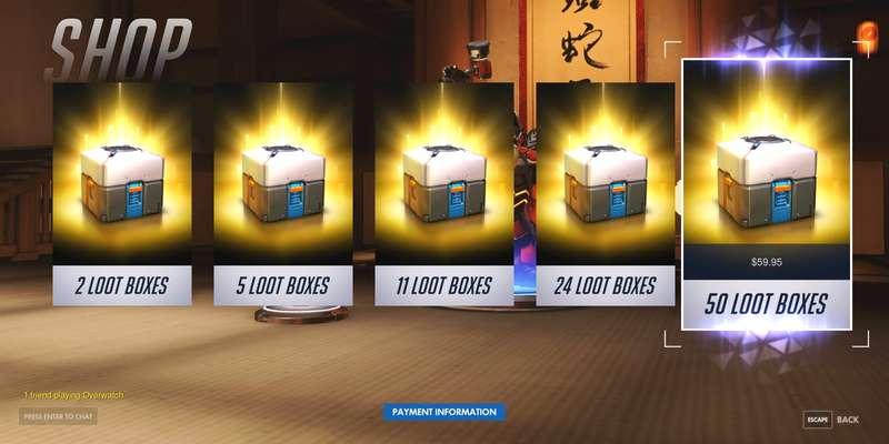 Microtransazioni: per il Belgio le loot box sono gioco d'azzardo