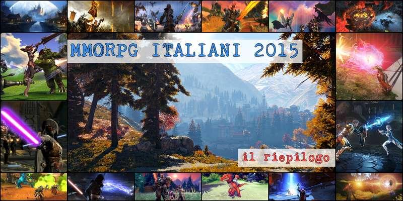 MMORPG free2play italiani 2015: facciamo un riepilogo