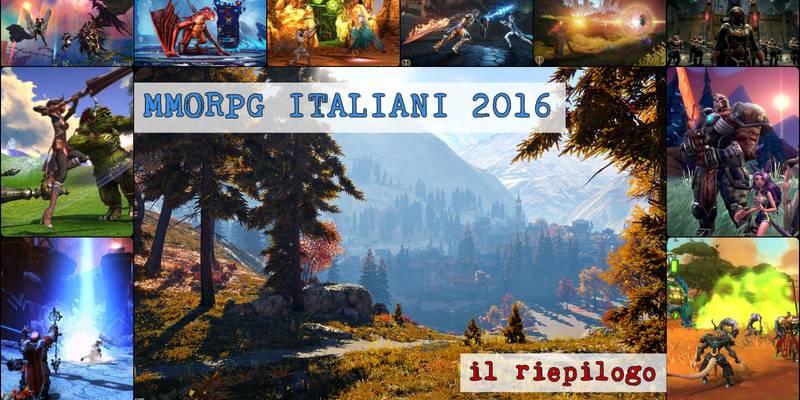 I Migliori Giochi MMORPG free to play italiani (e non) del 2016: un riepilogo
