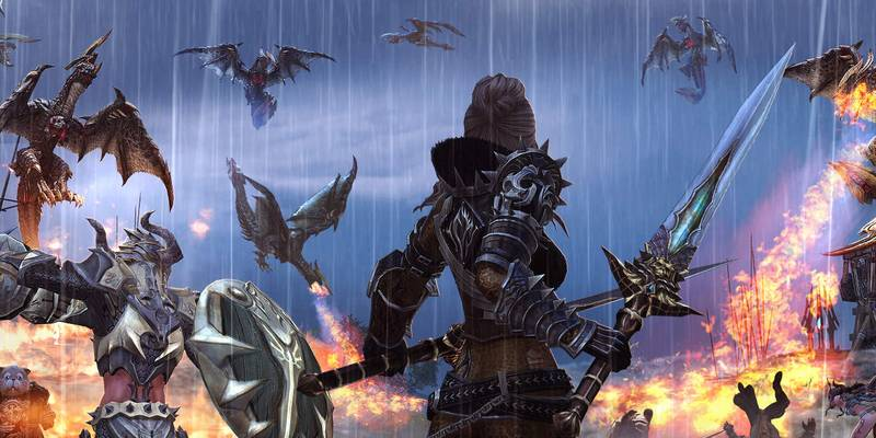 "Playlist di gameplay: ""Migliori Giochi MMORPG"""