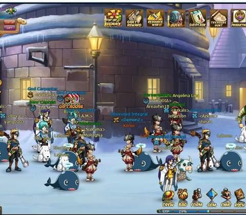 Anime Pirates in-game screenshot 1
