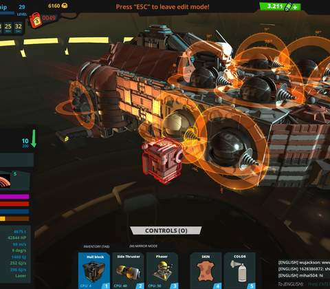 Galactic Junk League in-game screenshot 4