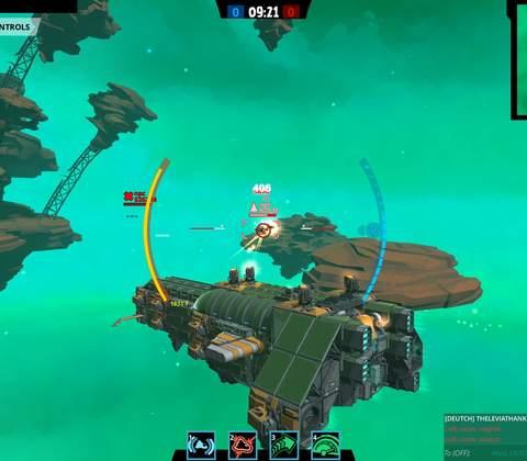 Galactic Junk League in-game screenshot 6