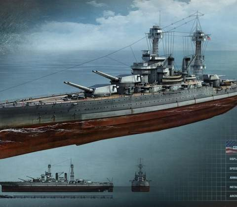 World of Warships in-game screenshot 13