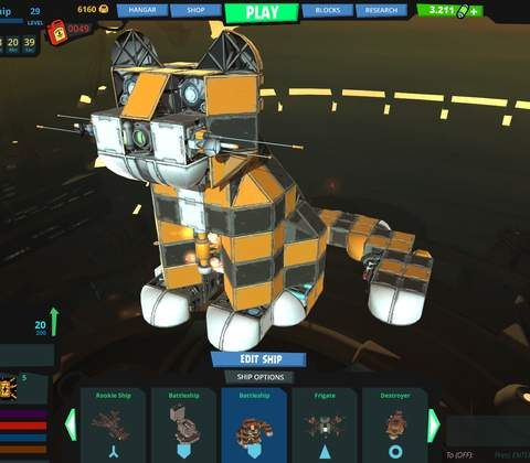Galactic Junk League in-game screenshot 8