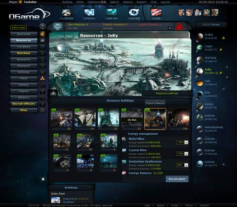 Ogame in-game screenshot 6