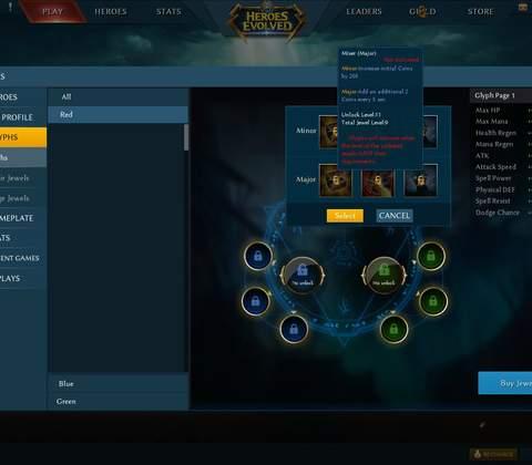 Heroes Evolved in-game screenshot 5