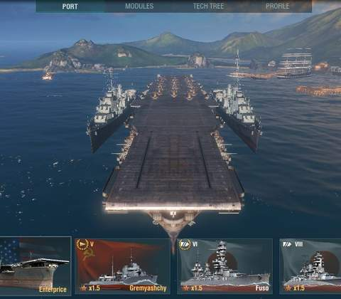 World of Warships in-game screenshot 10