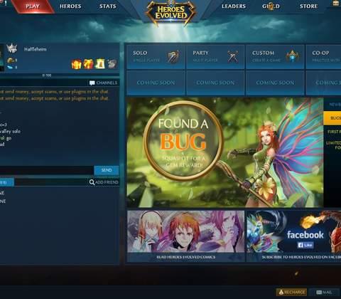 Heroes Evolved in-game screenshot 7
