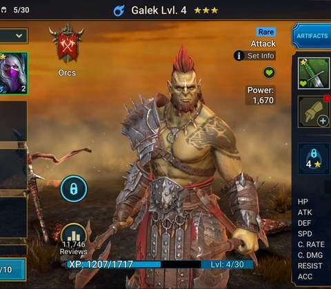 RAID: Shadow Legends in-game screenshot 11