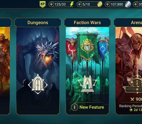 RAID: Shadow Legends in-game screenshot 4