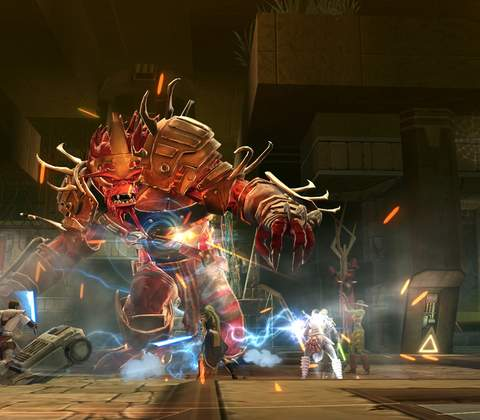 Star Wars The Old Republic in-game screenshot 1