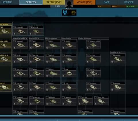 Armored Warfare in-game screenshot 5