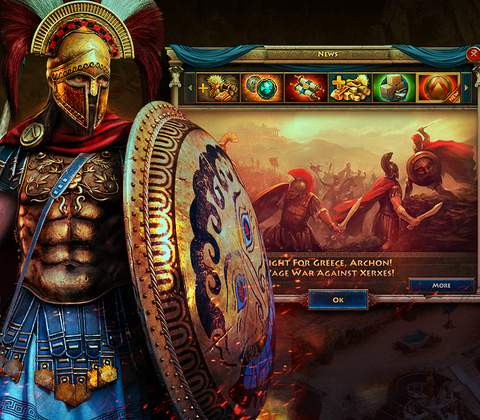 Sparta: War of Empires in-game screenshot 7