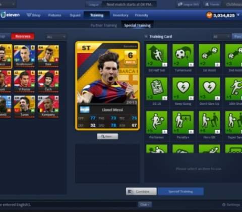United 11 in-game screenshot 1
