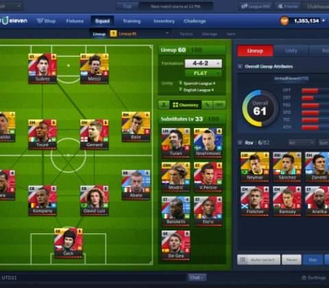 United 11 in-game screenshot 3
