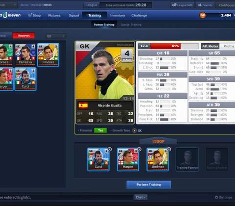 United 11 in-game screenshot 4