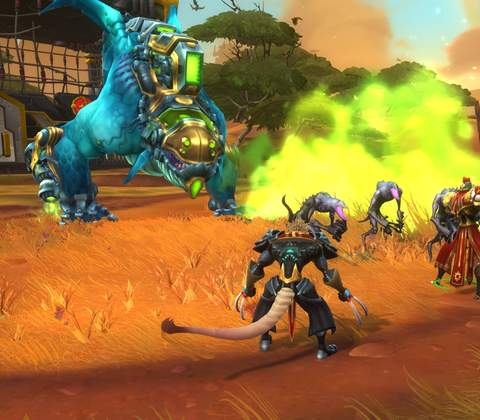 Wildstar in-game screenshot 1