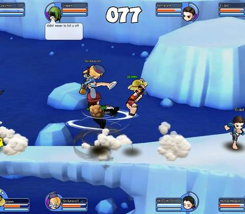 Rumble Fighter in-game screenshot 3