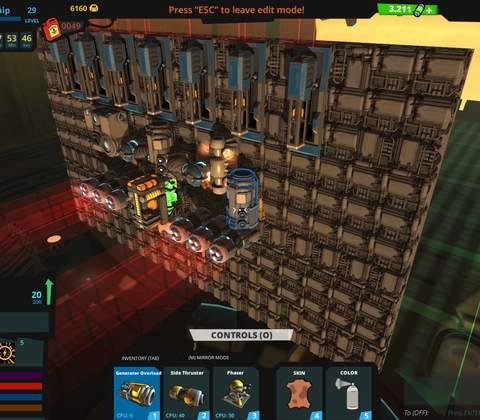 Galactic Junk League in-game screenshot 7