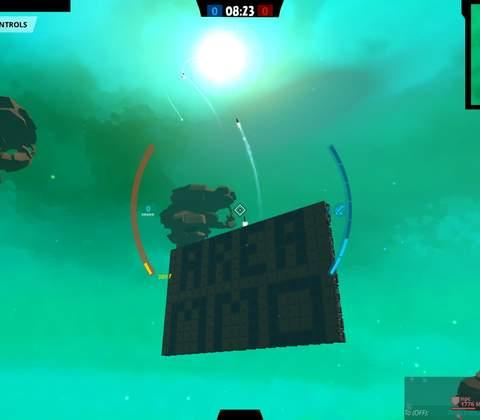 Galactic Junk League in-game screenshot 3