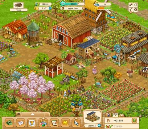 Big Farm in-game screenshot 2