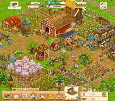 Big Farm in-game screenshot 2