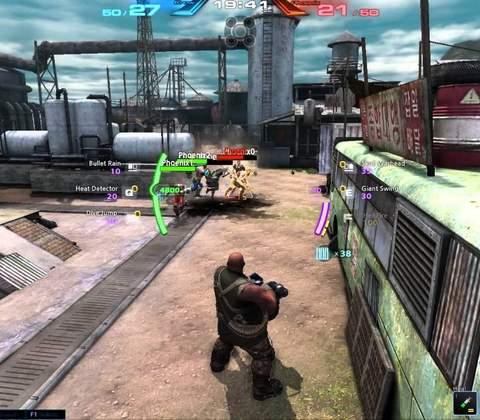CroNix in-game screenshot 1