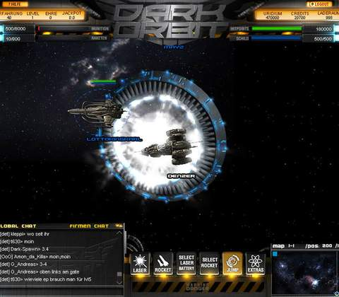 Dark Orbit in-game screenshot 10