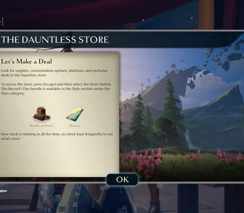 Dauntless in-game screenshot 13