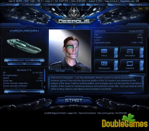 Deepolis in-game screenshot 2