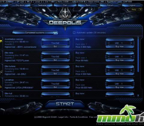 Deepolis in-game screenshot 5