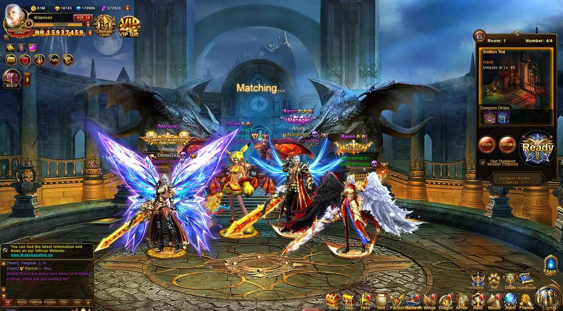 Review of Dragon Awaken - MMO & MMORPG Games