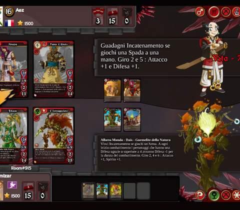 Eredan iTCG in-game screenshot 2