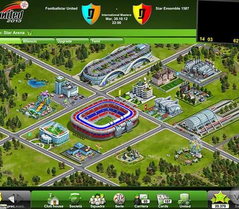 Goal United in-game screenshot 1