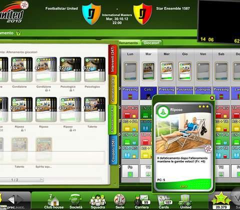 Goal United in-game screenshot 2