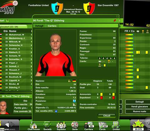 Goal United in-game screenshot 7