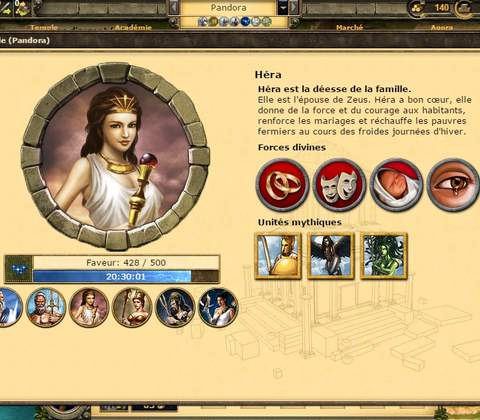 Grepolis in-game screenshot 5