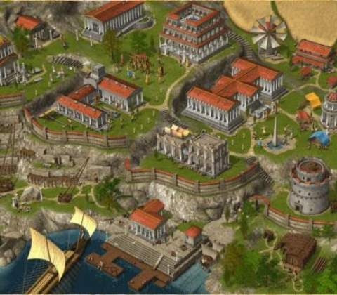 Grepolis in-game screenshot 1