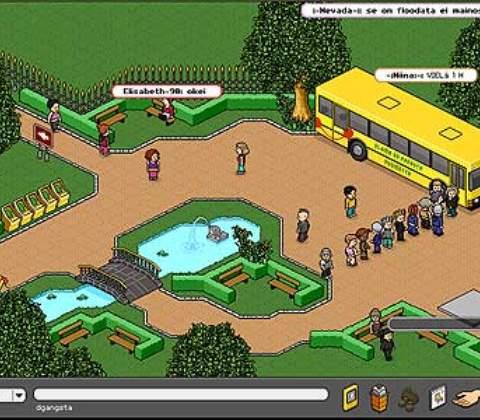 Habbo Hotel in-game screenshot 2