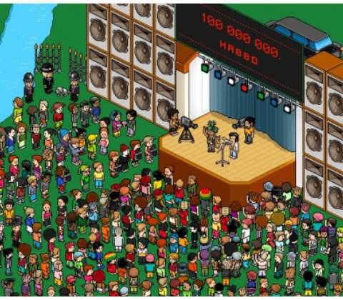 Habbo Hotel in-game screenshot 4