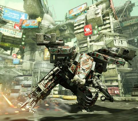 Hawken in-game screenshot 1