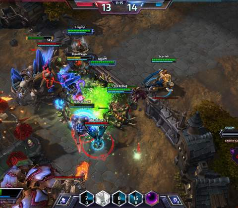 Heroes of the Storm in-game screenshot 4