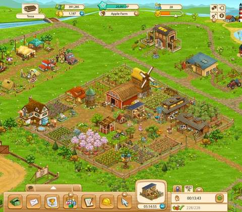 Big Farm in-game screenshot 3