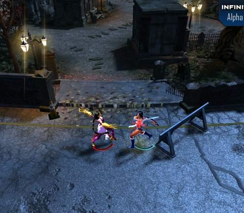 Infinite Crisis in-game screenshot 1